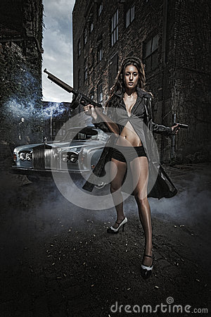 Armatni strzały - Mafijny zabójca