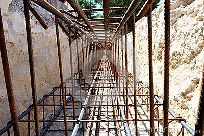 Armature foundation beam