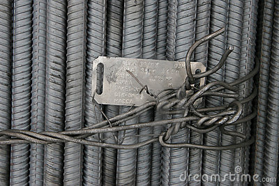 Armature tied up by a wire