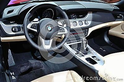 Armaturenbrett BMW-Z4 Redaktionelles Bild - Bild: 18315080 | {Armaturenbrett bmw 27}