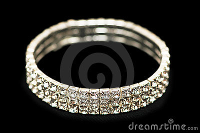 Armband met diamanten