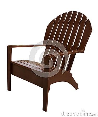 Armchair wooden