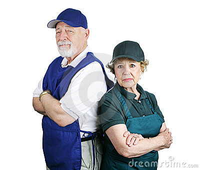 Arme Ruhestand-Planung