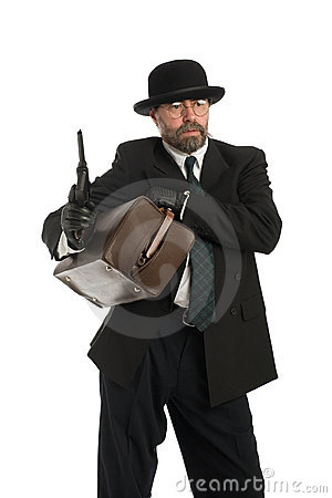 Armed bank robber