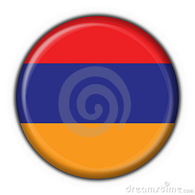 Free Armenian Button Flag Star Shape Stock Photo - 4172470