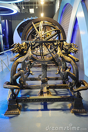 The Armillary Sphere (Ming Dynasty) Editorial Photography