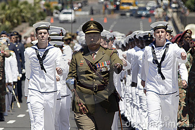 Armistice Day in Cape Town, South Africa 2008 Editorial Stock Photo