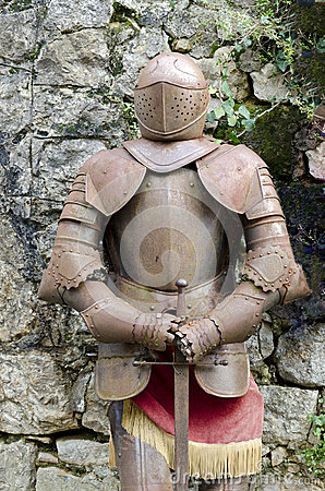 Armor Against the Wall
