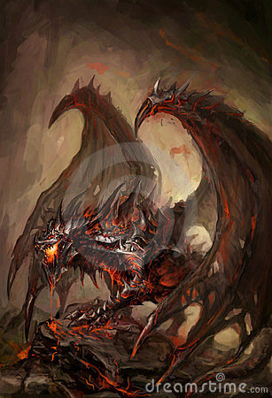 Armored дракон