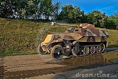 Armoured carrier