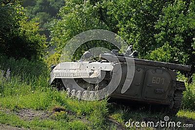 Armoured transportation carrier