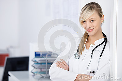 Arms crossed doctor
