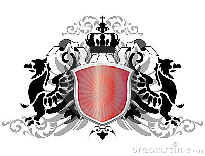 Arms with griffins