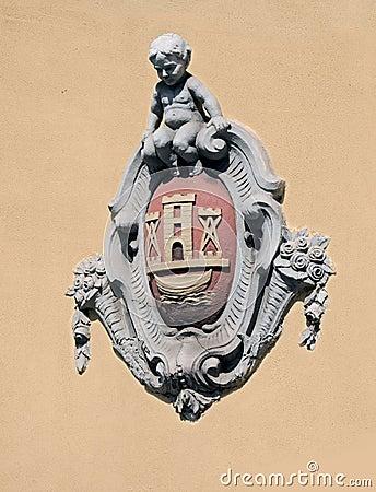 The arms of Klaipeda