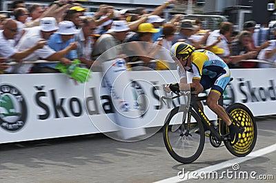 Armstrong lance Redaktionell Bild
