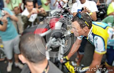 Armstrong lance Redaktionell Arkivbild