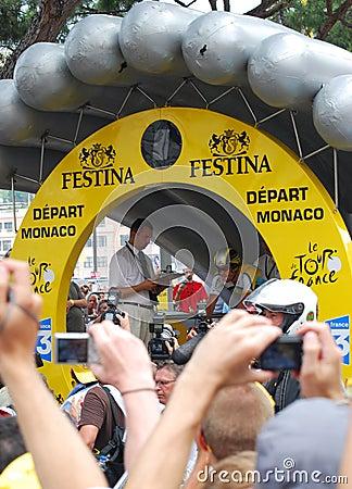 Armstrong Lance - Tour de France 2009 Editorial Photo