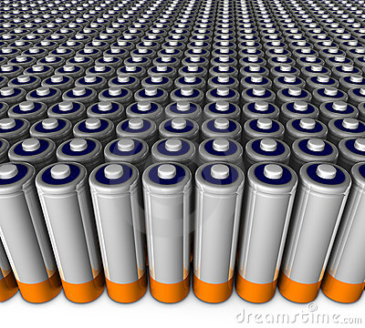 Army of batteries