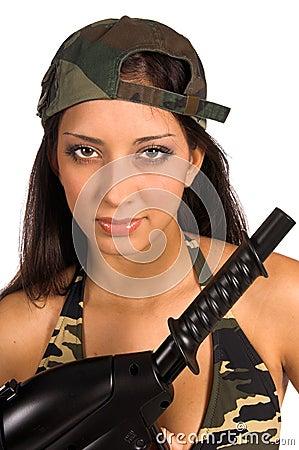 Army Beauty