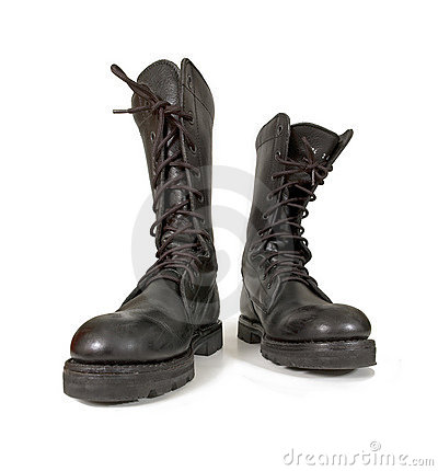Free Army Boots Royalty Free Stock Images - 2777229