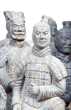 Free Army Of Terracotta Warriors Royalty Free Stock Image - 4635736