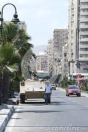 Army Tank Editorial Photo