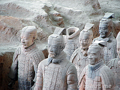 Army of Terracotta Warriors