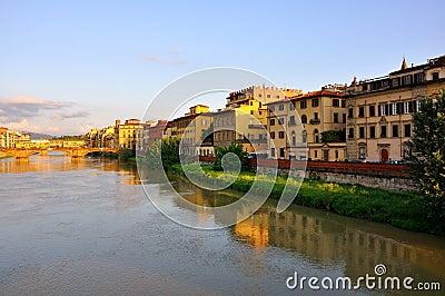 Arno river, Florence