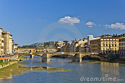 Arno River in Italy