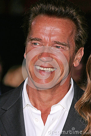 Arnold Schwarzenegger Editorial Stock Photo