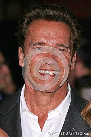 Arnold Schwarzenegger Editorial Photo