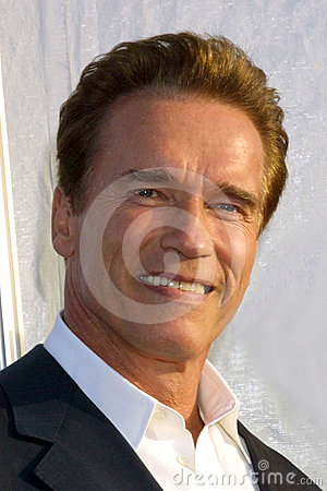 Arnold Schwarzenegger,The-Dream Editorial Stock Image