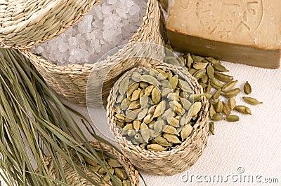Aroma bath. natural spa