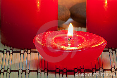 Aroma Candle in Spa