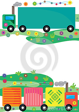 Aroma Card_eps del fumo di trasporto
