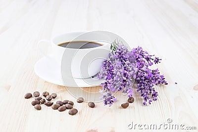 Aroma coffee cup.
