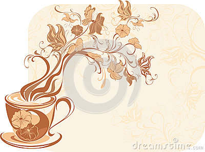 Aroma floral tea