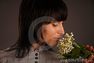 The aroma of flowers
