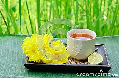 Aroma lemon tea