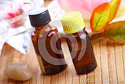 Aromatherapy in bottles