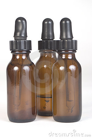 Aromatherapy Brown Bottles