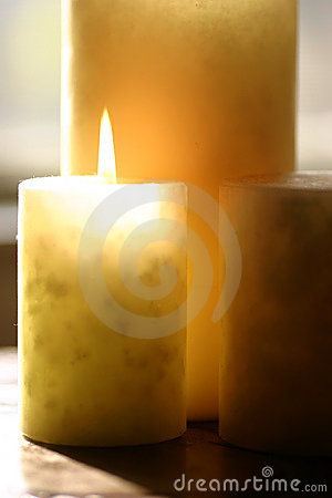 Free Aromatherapy Candle Stock Images - 42124