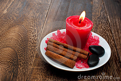 Aromatherapy Candle for relaxation spa and wellnes