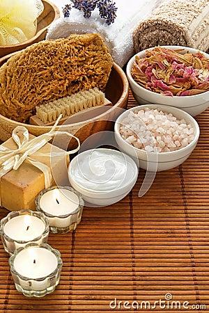 Aromatherapy ciała opieki produktów relaksu zdrój