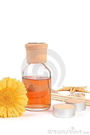 Aromatherapy with copy space
