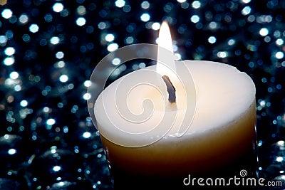 Aromatherapy Kerze in einem Badekurort