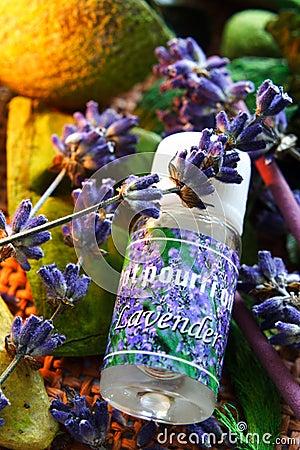 Free Aromatherapy - Lavender Oil Stock Image - 1132491