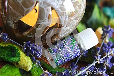 Aromatherapy - lavender oil