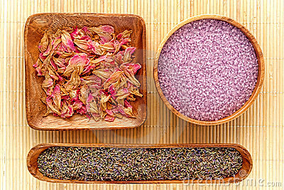 Aromatherapy Natural Ingredients with Lavender