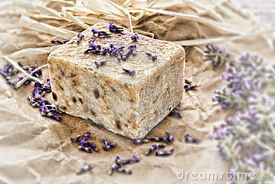 Aromatherapy Natural Scented Soap and Lavender